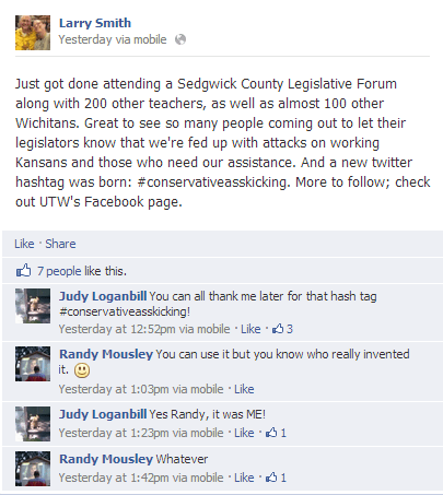 Wichita teachers on Facebook