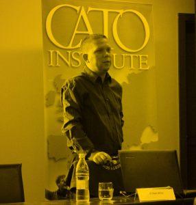 Zoltán Kész of Free Market Foundation of Hungary.