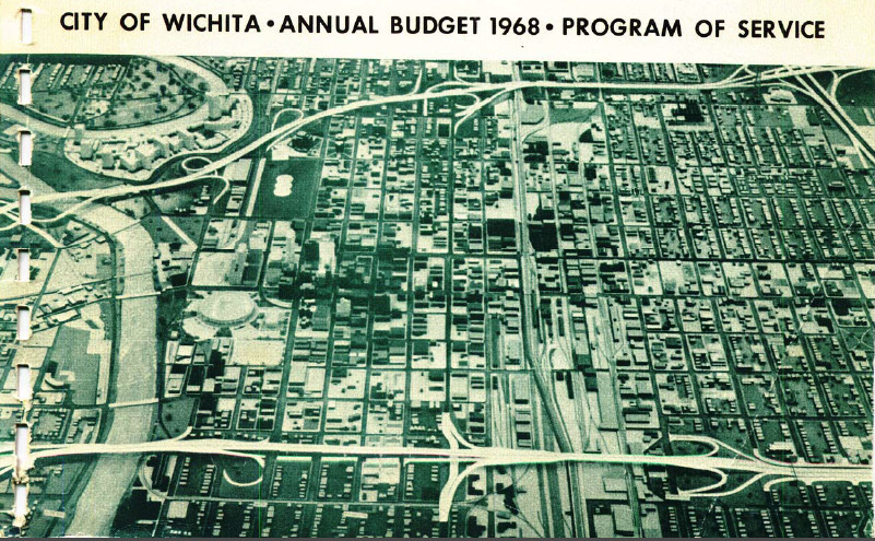 Wichita City Budget Cover, 1968