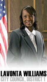 Wichita City Council Member Lavonta Williams