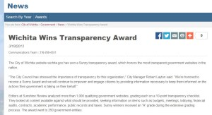 wichita-wins-transparency-award-2013