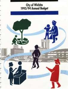 Wichita City Budget Cover, 1993