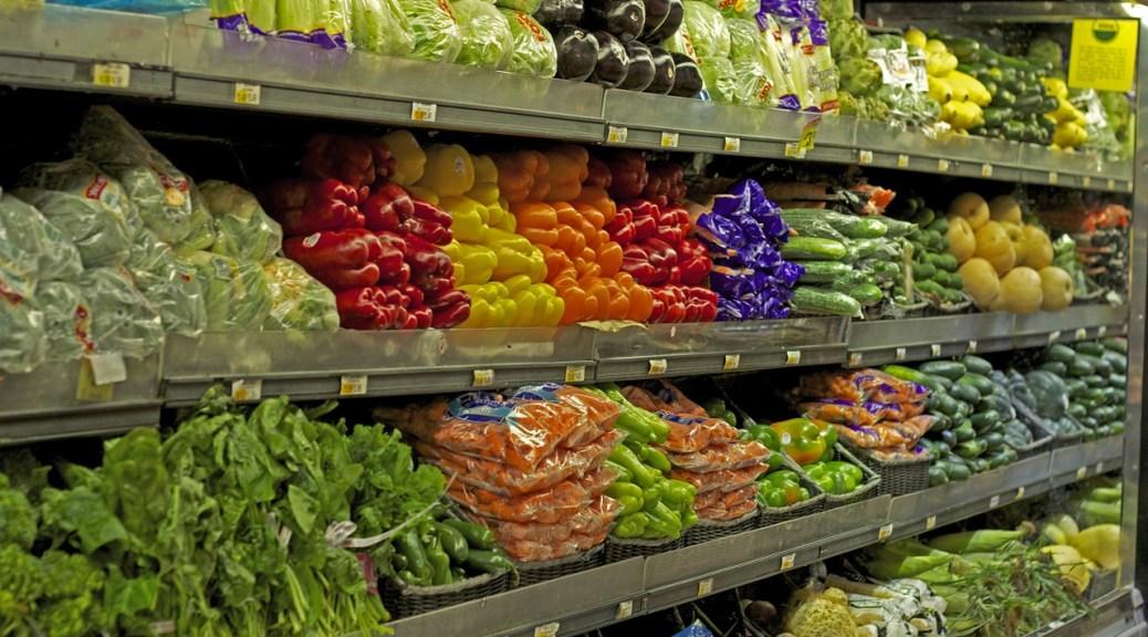 Groceries vegetables