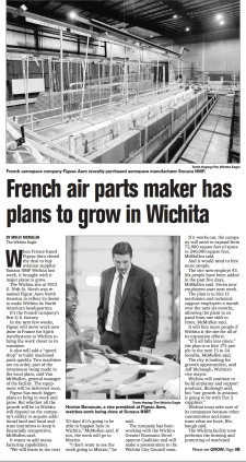 French air parts maker Figeac has plans to grow in Wichita