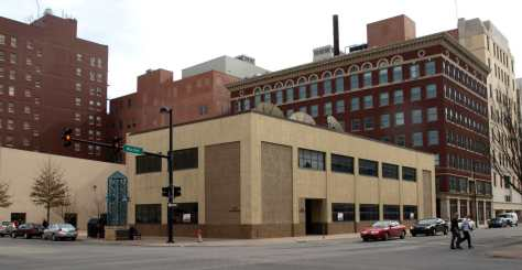 The building at 100 S. Market as it appeared in 2009. This building is slated to receive a grant of $30,000 to improve its exterior.