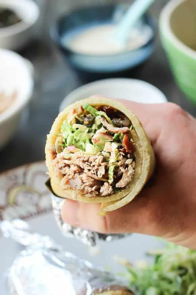 Paleo Easy Mexican Pork Burritos