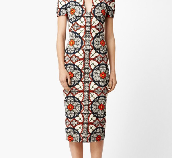 Alexander McQueen dress. Image from Nordstrom.