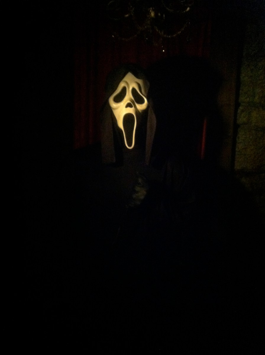 "Ghost Face from ""Scream""."