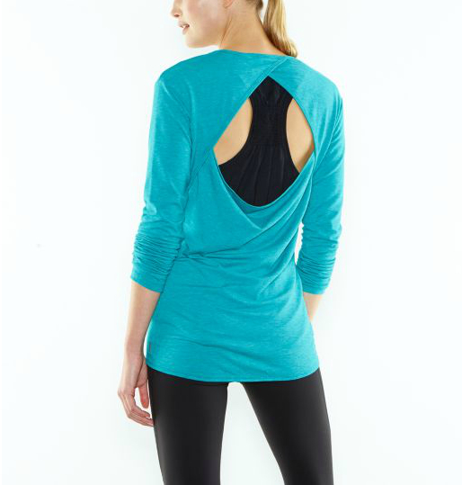 Enchanted Long Sleeve Yoga Top from Lucy.com.