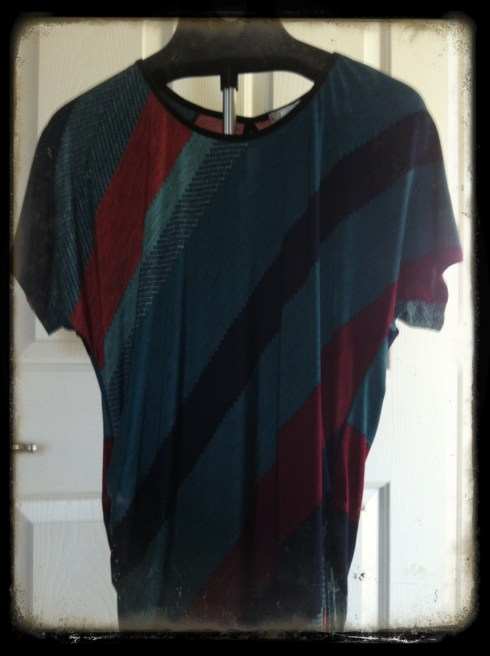 Lavish dolman top - Ross.