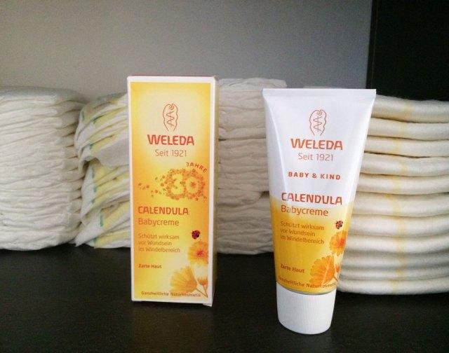 Weleda-Babycreme-Calendula-Test-Wien-mit-Kind