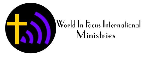 World In Focus International Ministries LOGO official