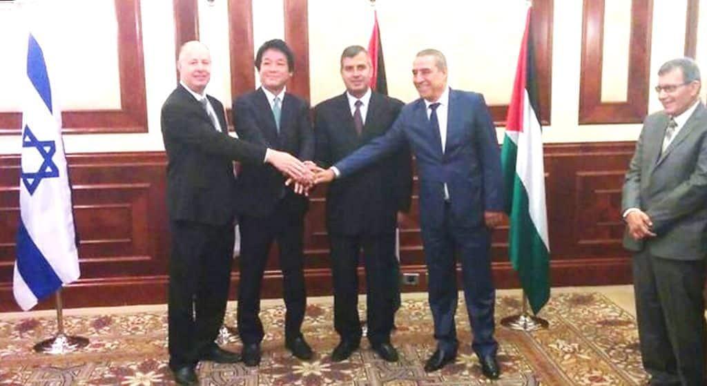 لقاء إسرائيلي فلسطيني أردني لإقامة منطقة صناعية في أريحا