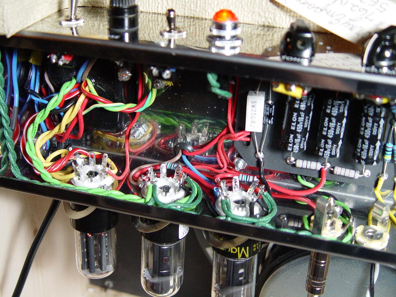 Weber 503 Tweed Deluxe Amp