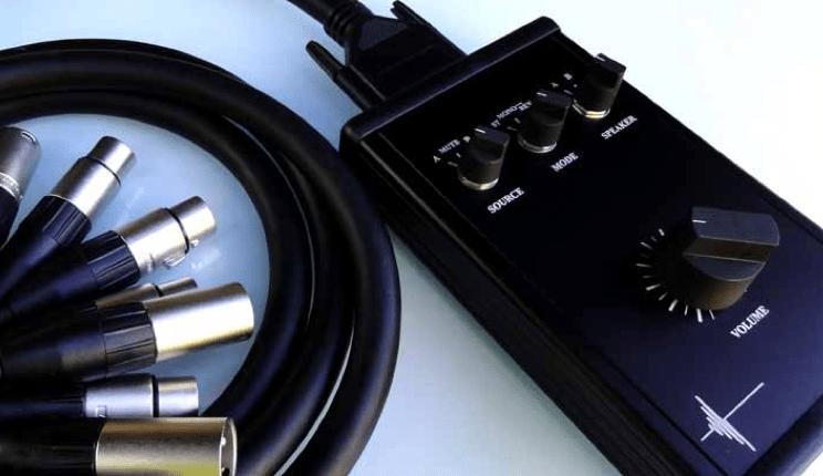 Diy Studio Monitors Diy Monitor Controller Audio