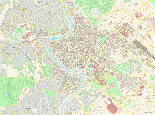 ScalableMaps   OpenStreetMap Wiki Rome  center   USA