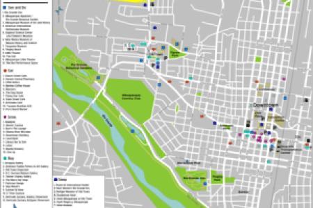 map of albuquerque area