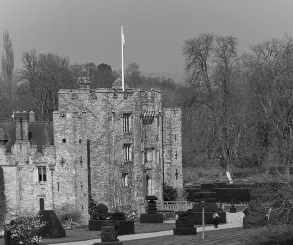 Hever Castle Halloween events for families
