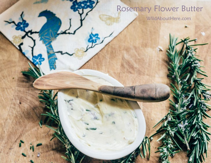 Floral butter recipe