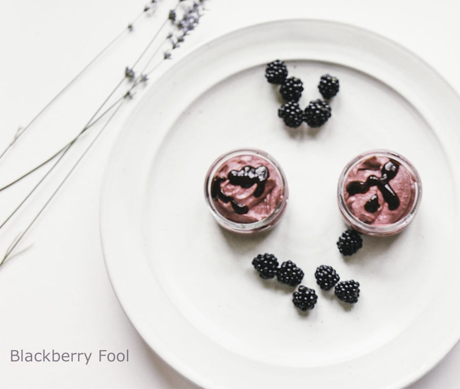 Blackberry Fool recipe with a lovely twist - Wild About Here