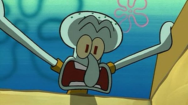9. Squidward is no squid. Hes actually an octopus.