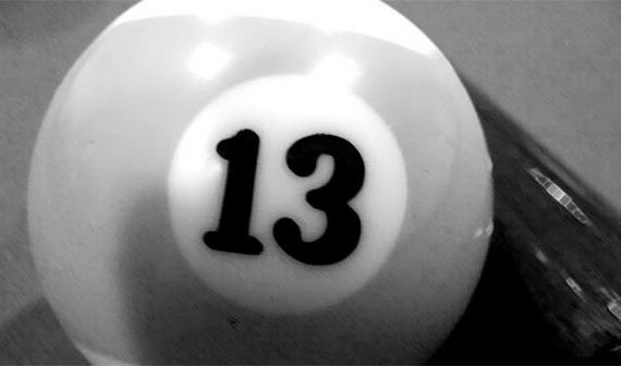 Triskaidekaphobia: Fear of the number 13.