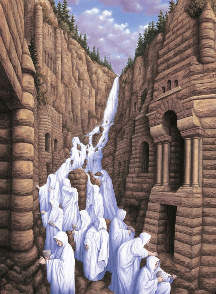 Mind-Melting Optical Illusion Paintings By Rob Gonsalves (3)