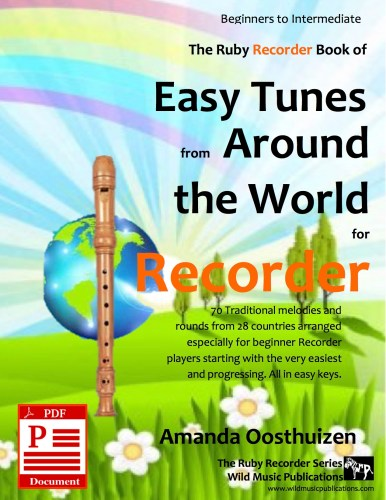 Easy Tunes from Around the World for Recorder Download