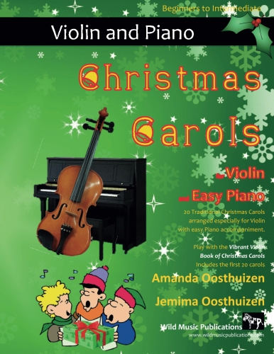 Christmas Carols for Violin and Easy Piano