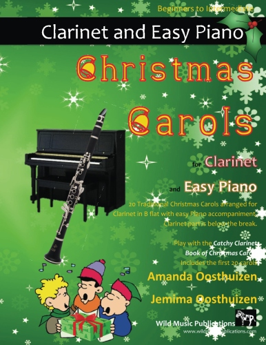 Christmas Carols for Clarinet and Easy Piano