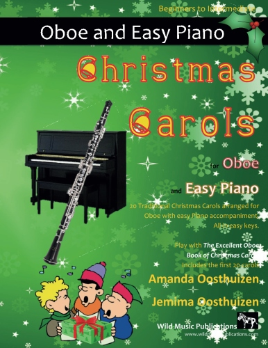 Christmas Carols for Oboe and Easy Piano