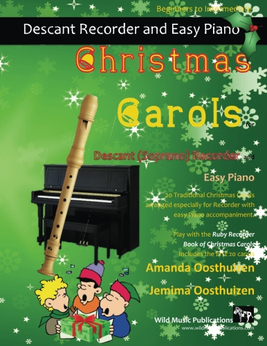 Christmas Carols for Recroder and Easy Piano