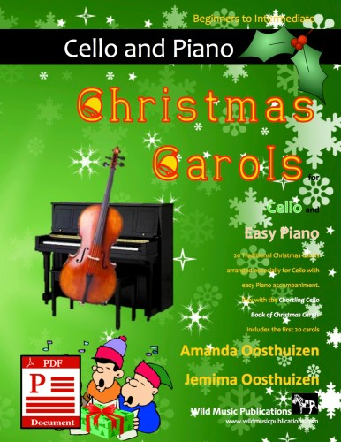 Christmas Carols for Cello and Easy Piano Download