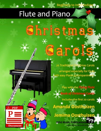 Christmas Carols for Flute and Easy Piano Download