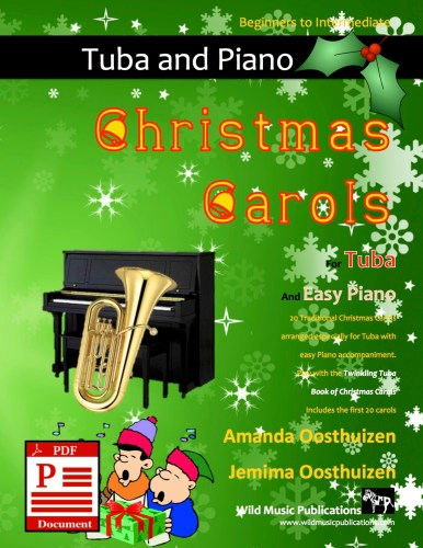 Christmas Carols for Tuba and Easy Piano Download
