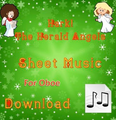 Hark! The Herald Angels Sing - Oboe Sheet Music Download