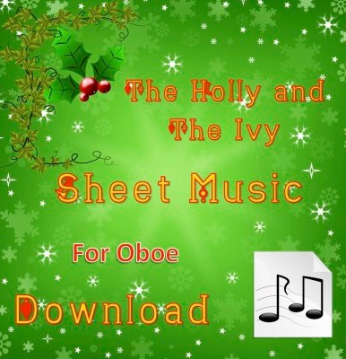 The Holly and the Ivy - Oboe Sheet Music