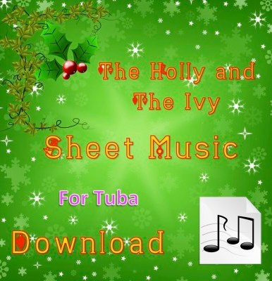 The Holly and the Ivy - Tuba Sheet Music