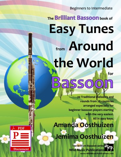 Easy Tunes from Around the World for Bassoon Download