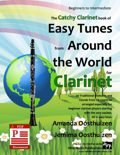 Easy Tunes from Around the World for Clarinet Download