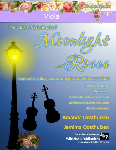The Valiant Viola Book of Moonlight and Roses