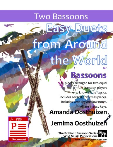 Easy Duets from Around the World for Bassoons Download