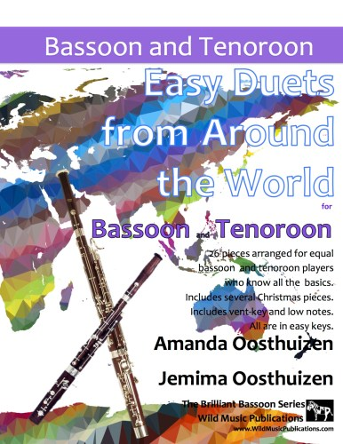 Easy Duets from Around the World for Bassoon and Tenoroon