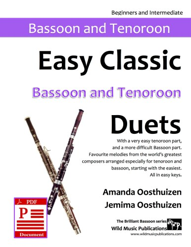 Easy Classic Bassoon and Tenoroon Duets Download