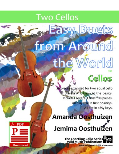 Easy Duets from Around the World for Cellos Download