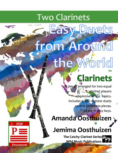 Easy Duets from Around the World for Clarinets Download