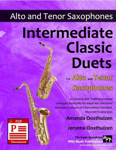Intermediate Classic Duets for Alto and Tenor Saxophones Download