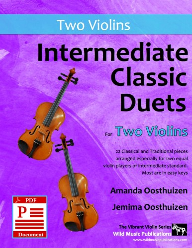 Intermediate Classic Duets for Two Violins Download