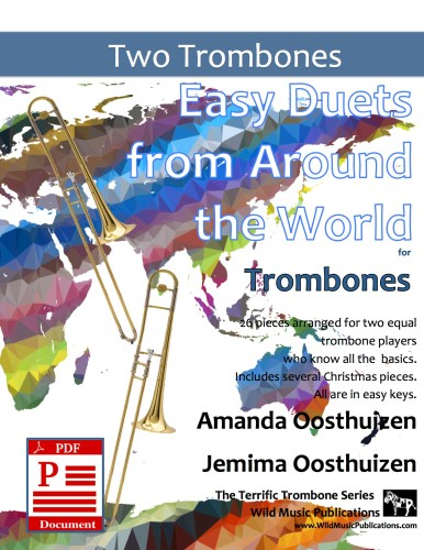 Easy Duets from Around the World for Trombones Download