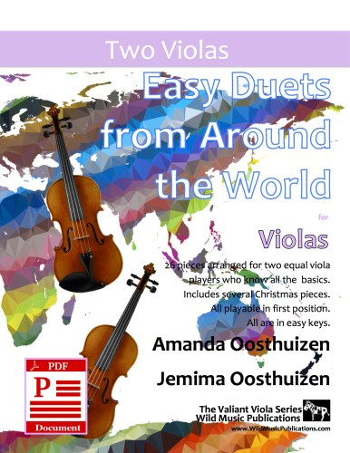 Easy Duets from Around the World for Violas Download